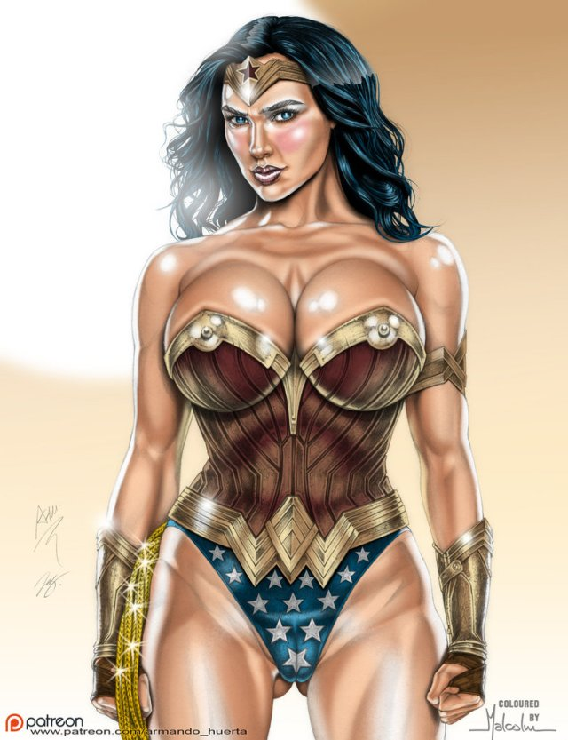 Wonder Woman Cleavage