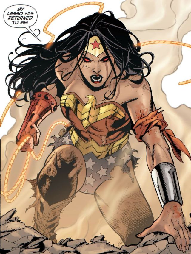 Wonder Woman Angry Face