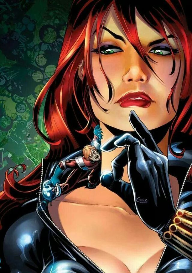 Black Widow - no one can enter