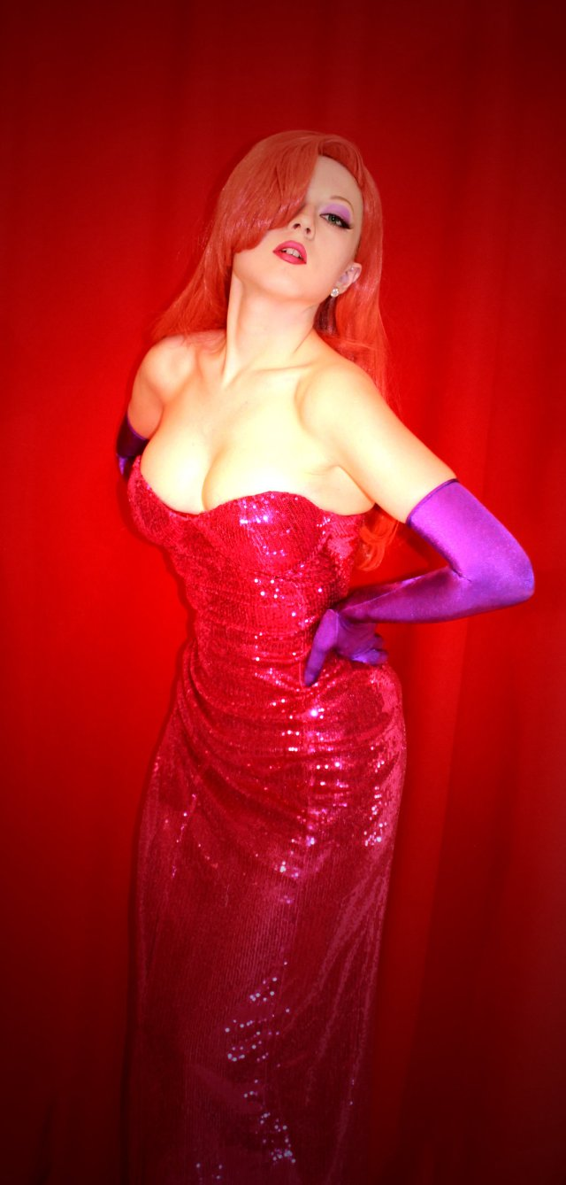 Jessica Rabbit Sexy in Red
