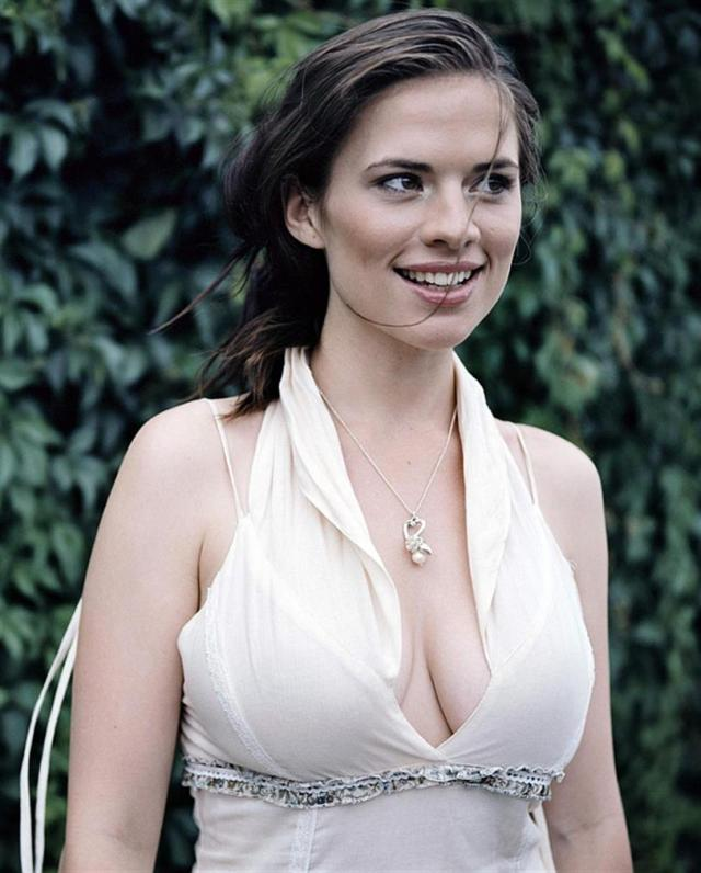 Hayley Atwell on Smile