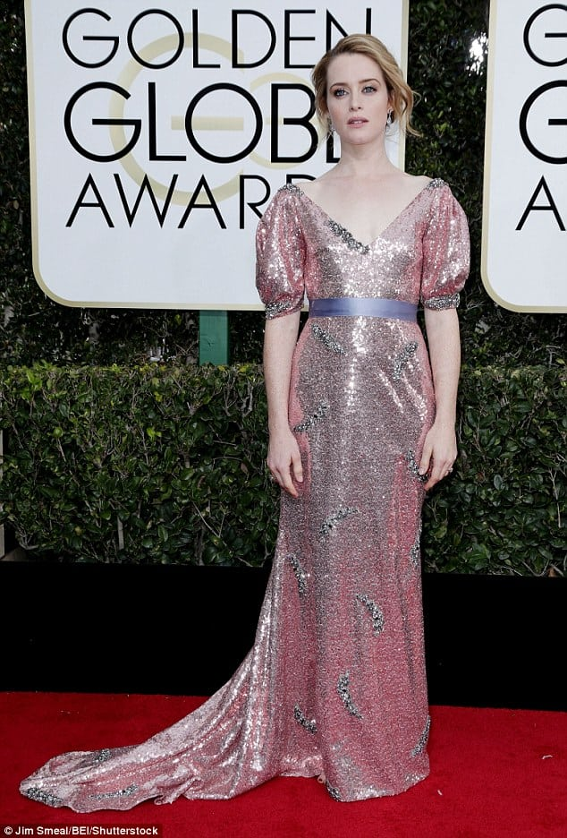 Claire Foy on Red Carpet