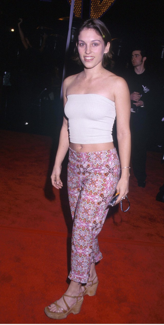 Amy Jo Johnson Red Carpet