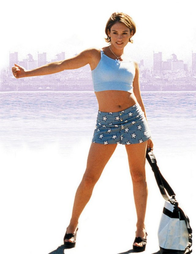 Amy Jo Johnson Sexy 1