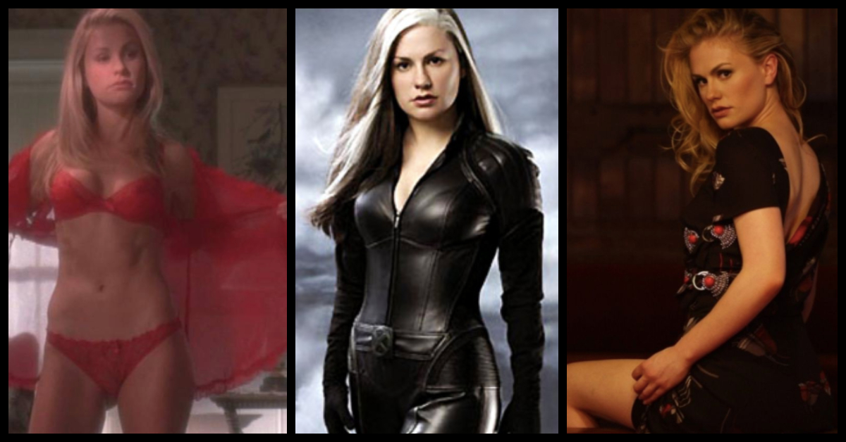 35 Hottest Pictures Of Anna Paquin Who Plays Rogue In X