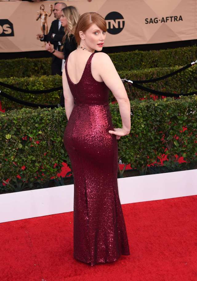 Bryce Dallas Howard Booty in Long Dress