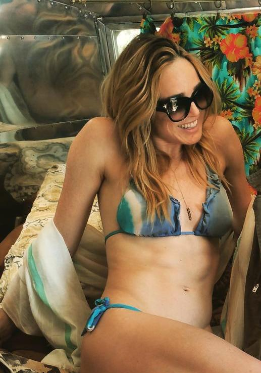 Caity Lotz Hot Skin
