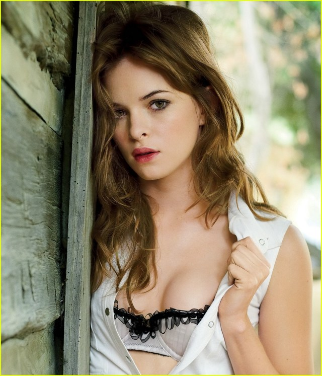 Danielle Panabaker Sexy Cleavage