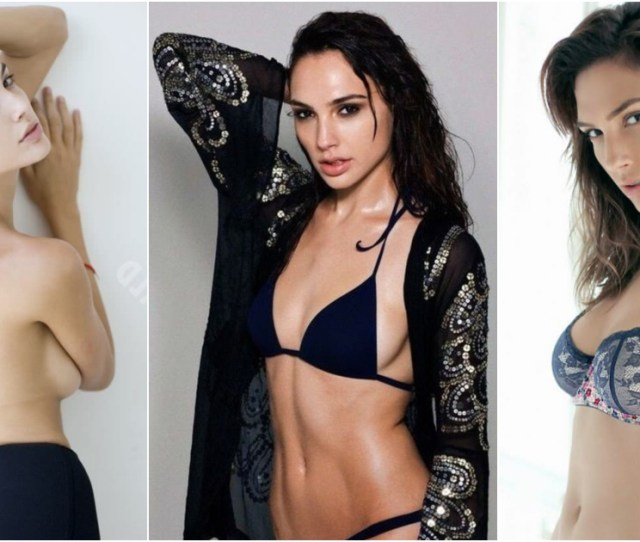 Sizzling Gal Gadot Lingerie Pictures That Will Drive Wonder