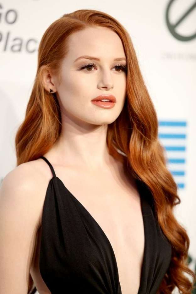 Madelaine Petsch Red Lips