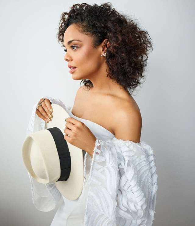 Tessa Thompson Braless