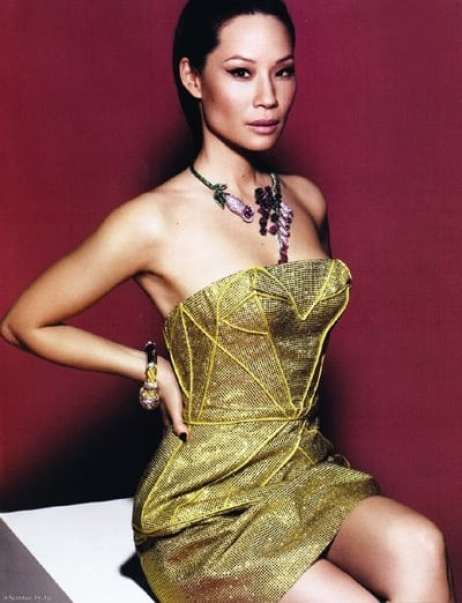 lucy liu mind-blowing