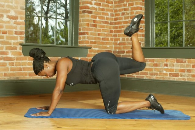 Buffie Carruth on Workout