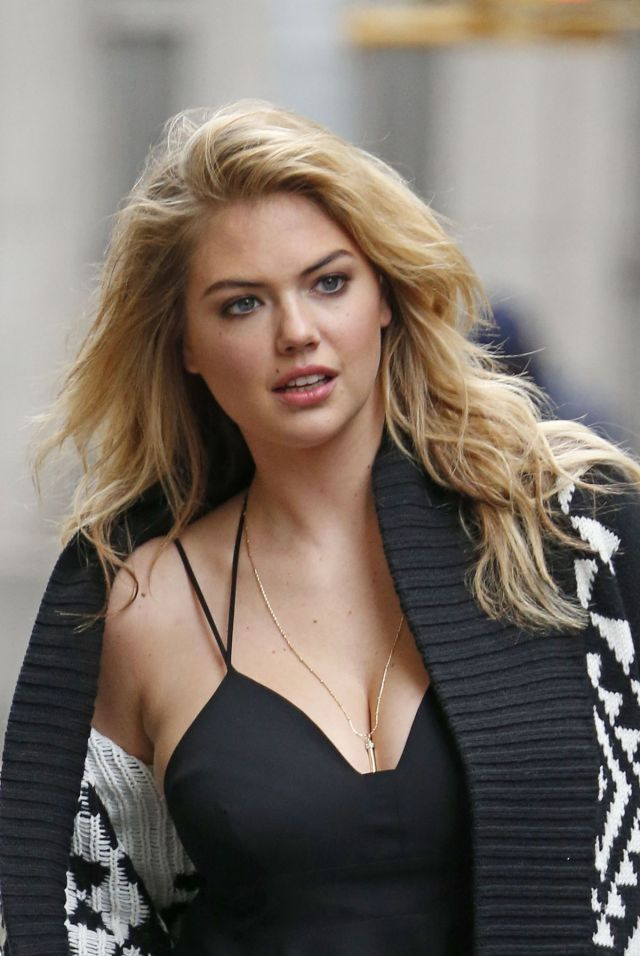 Kate Upton Hot in Black