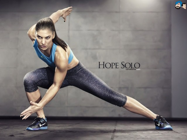 Hope Solo on Exercise