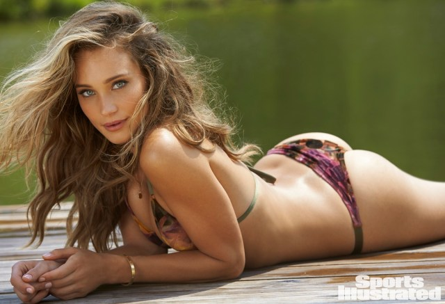 Hannah Davis on Swimsuit