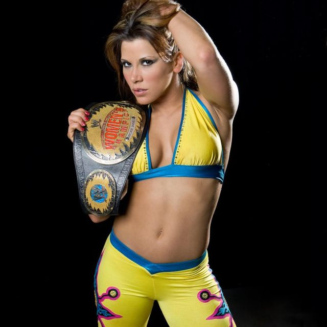 Mickie James Yellow