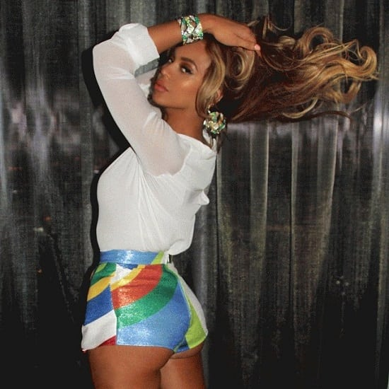 beyonce hot booty