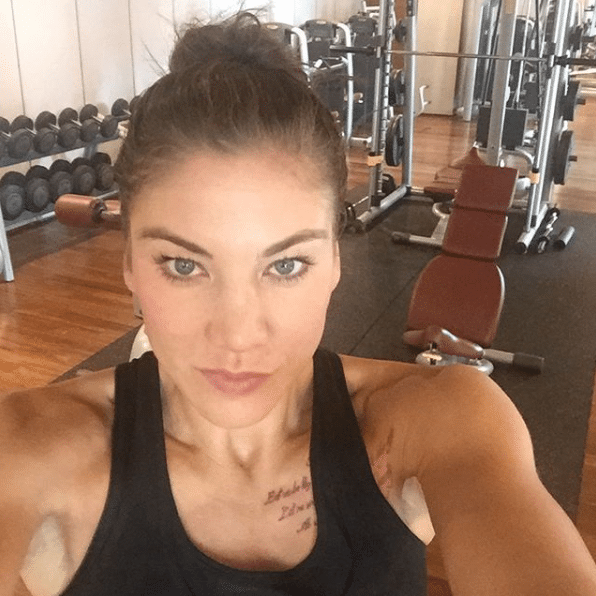 hope solo angry
