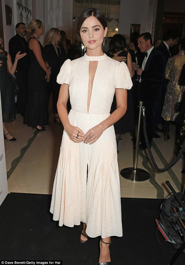 jenna coleman white dress
