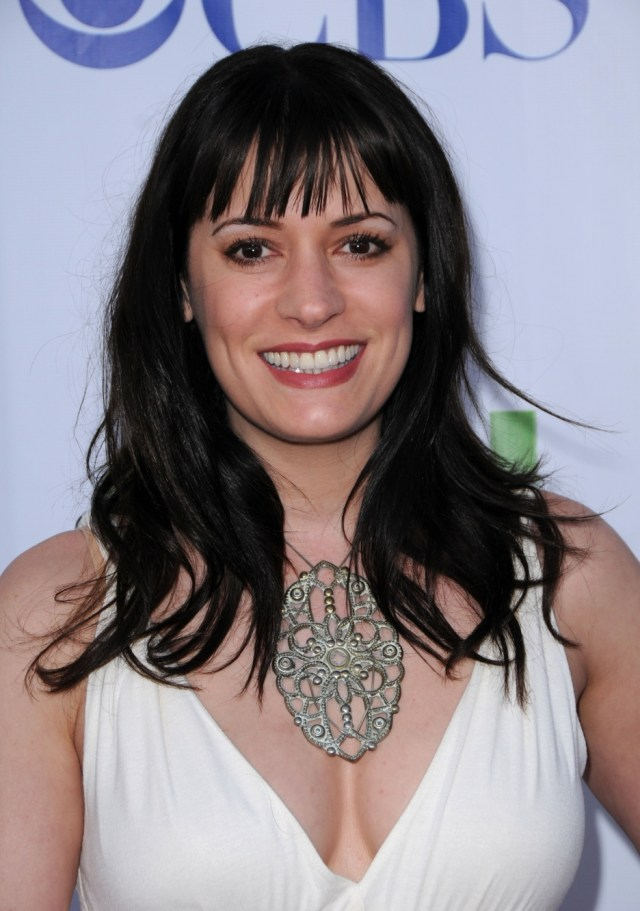 paget brewster hot cleavage