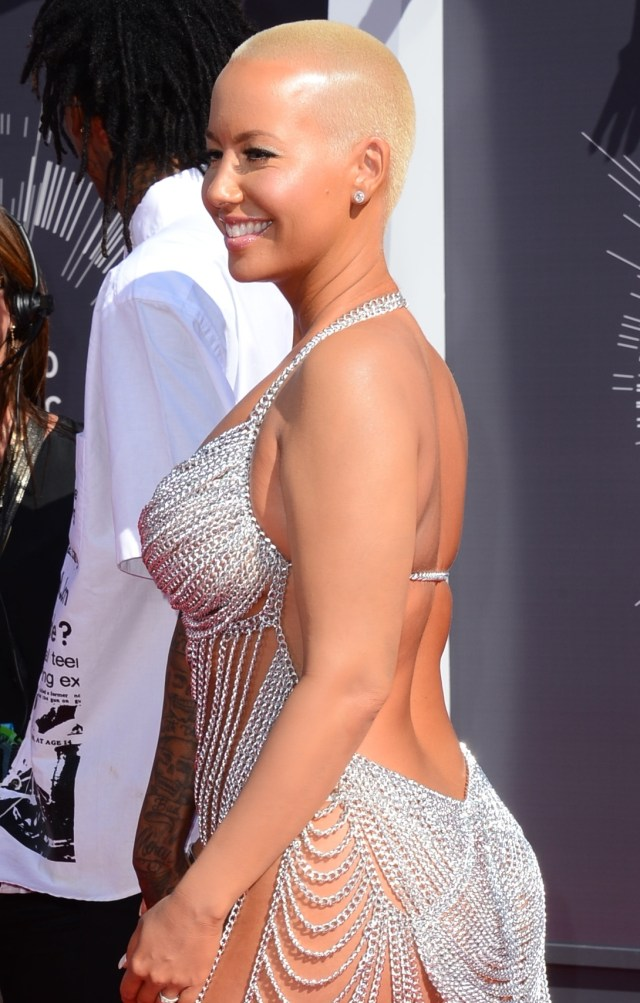 amber rose hot body