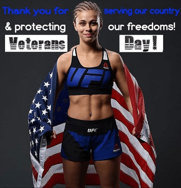 paige vanzant in fight costumes