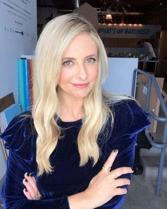 sarah michelle gellar blonde hair