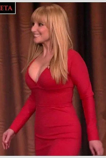 Melissa Rauch Hot in Red