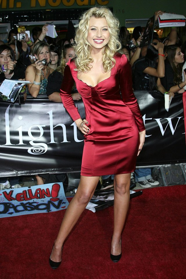 Aly Michalka on Red Carpet