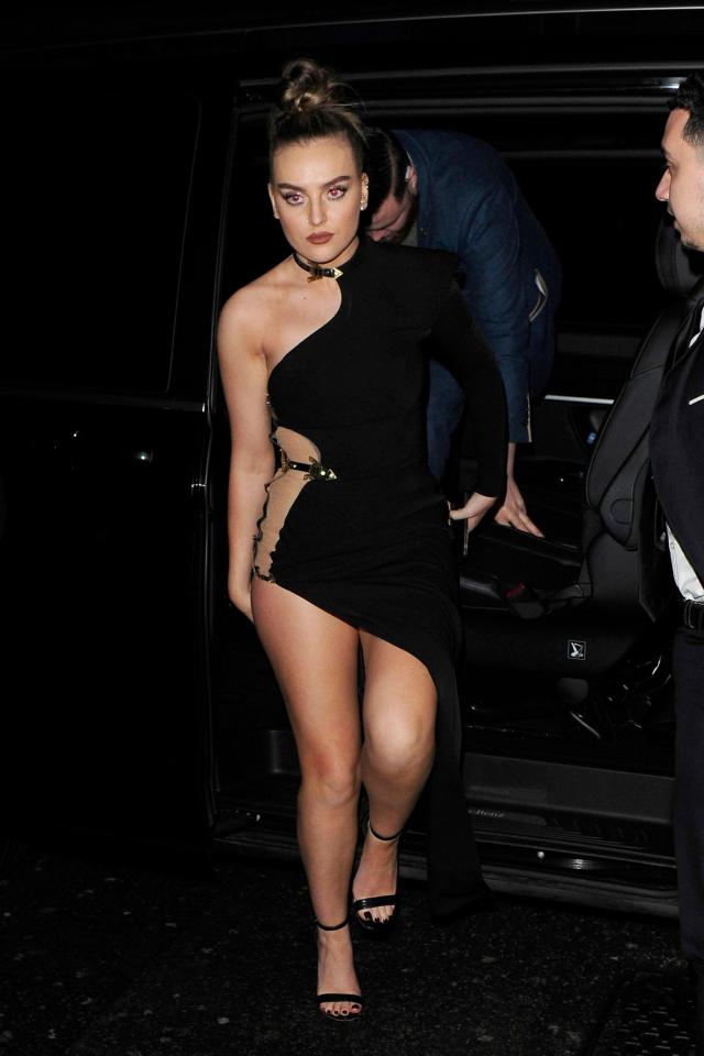 Perrie Edwards Hot in Black