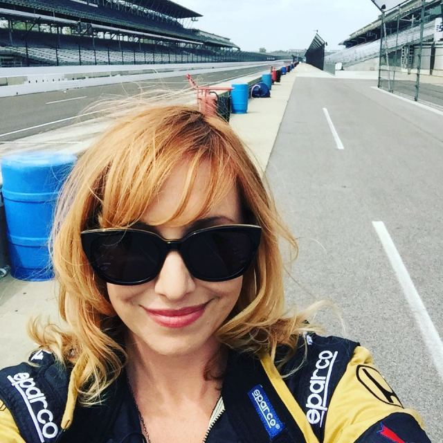 Kari Byron wearing Gauggle