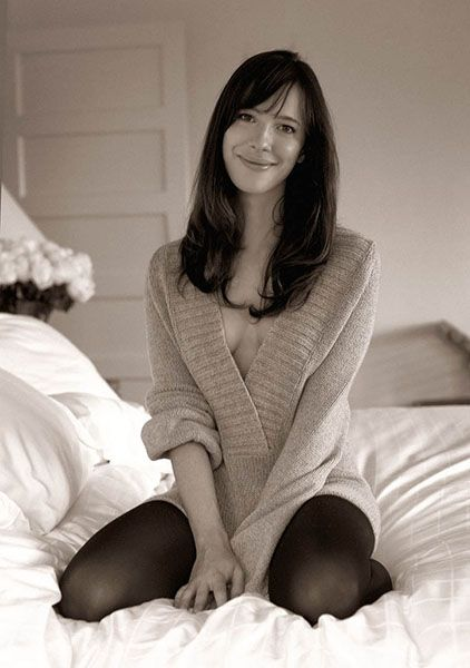 Rebecca Hall on Bed