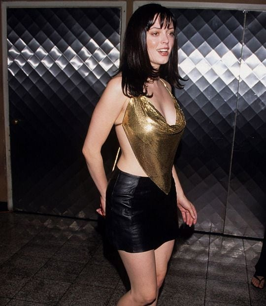 Rose McGowan on Party