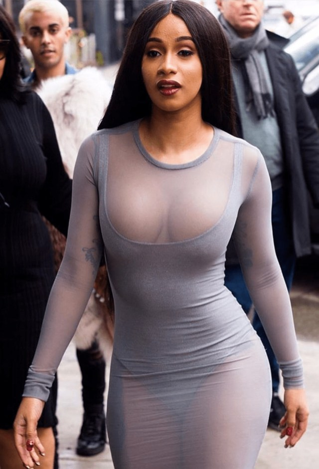 Cardi B on the Road