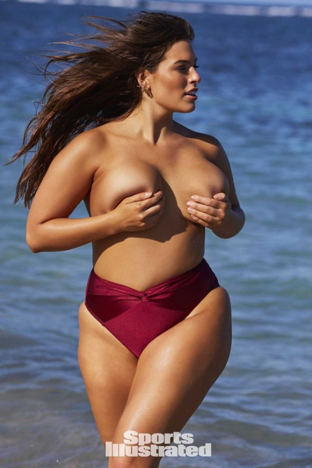 Ashley Graham Boobs Press