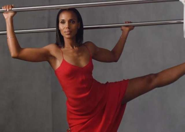 Kerry Washington Exercise