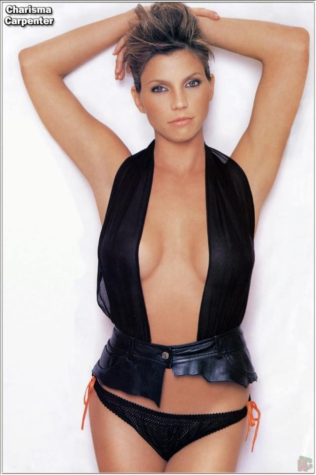 charisma carpenter hot cleavage