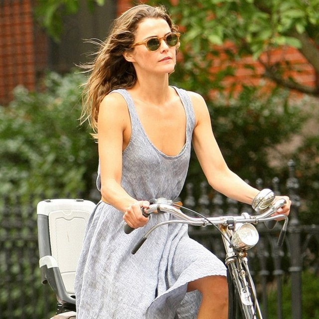 keri russell bicycle
