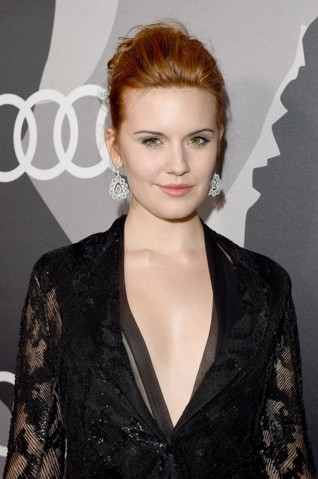 maggie grace hot cleavage