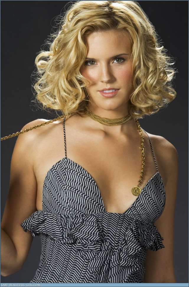 maggie grace sexy cleavage