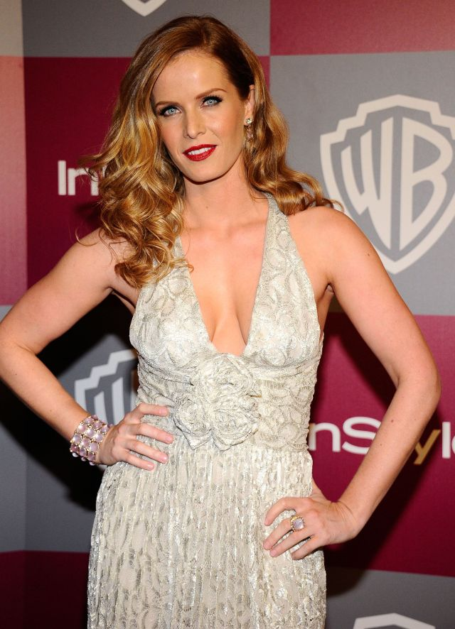 rebecca mader sexy cleavage
