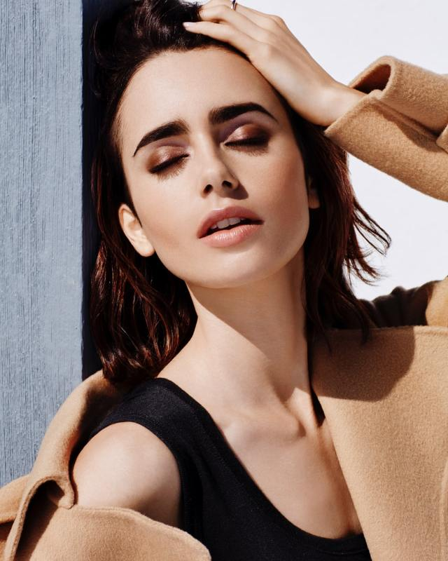 Lily Collins Hot Photoshoot
