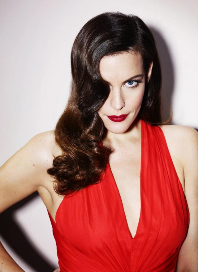 Liv Tyler Hot in Red