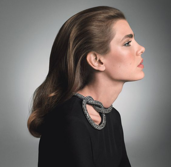 Charlotte Casiraghi Hairstyles