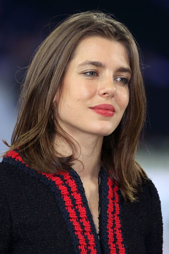 Charlotte Casiraghi Red Lips