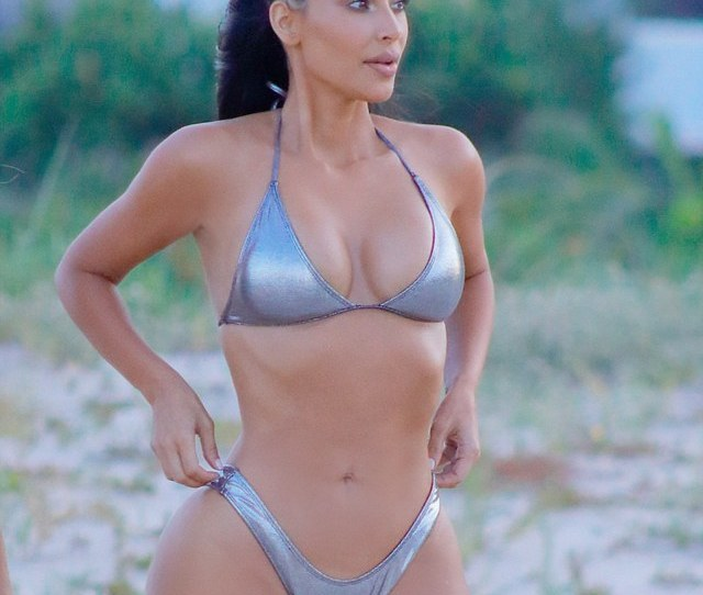 Hot Pictures Of Kim Kardashian Expose Her Bodys True Beauty