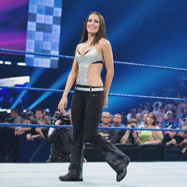 brie bella hot smile