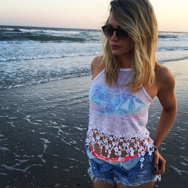 jenna cooper beach pictures