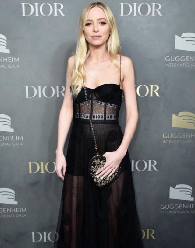 portia doubleday black dress